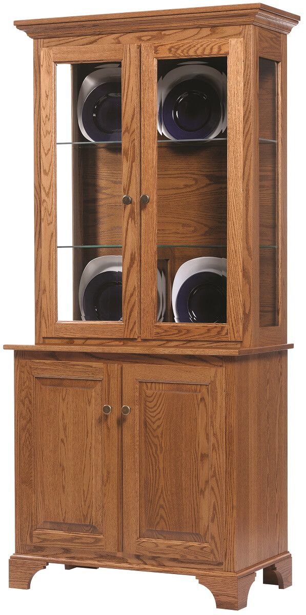 Westland Small Oak China Hutch