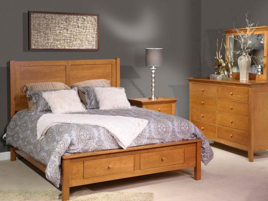 Beauford Cherry Amish Bedroom Set