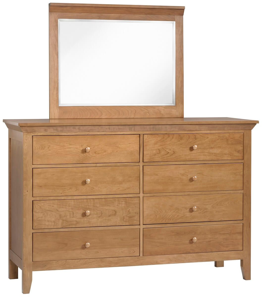 Beauford Tall Dresser with Mirror
