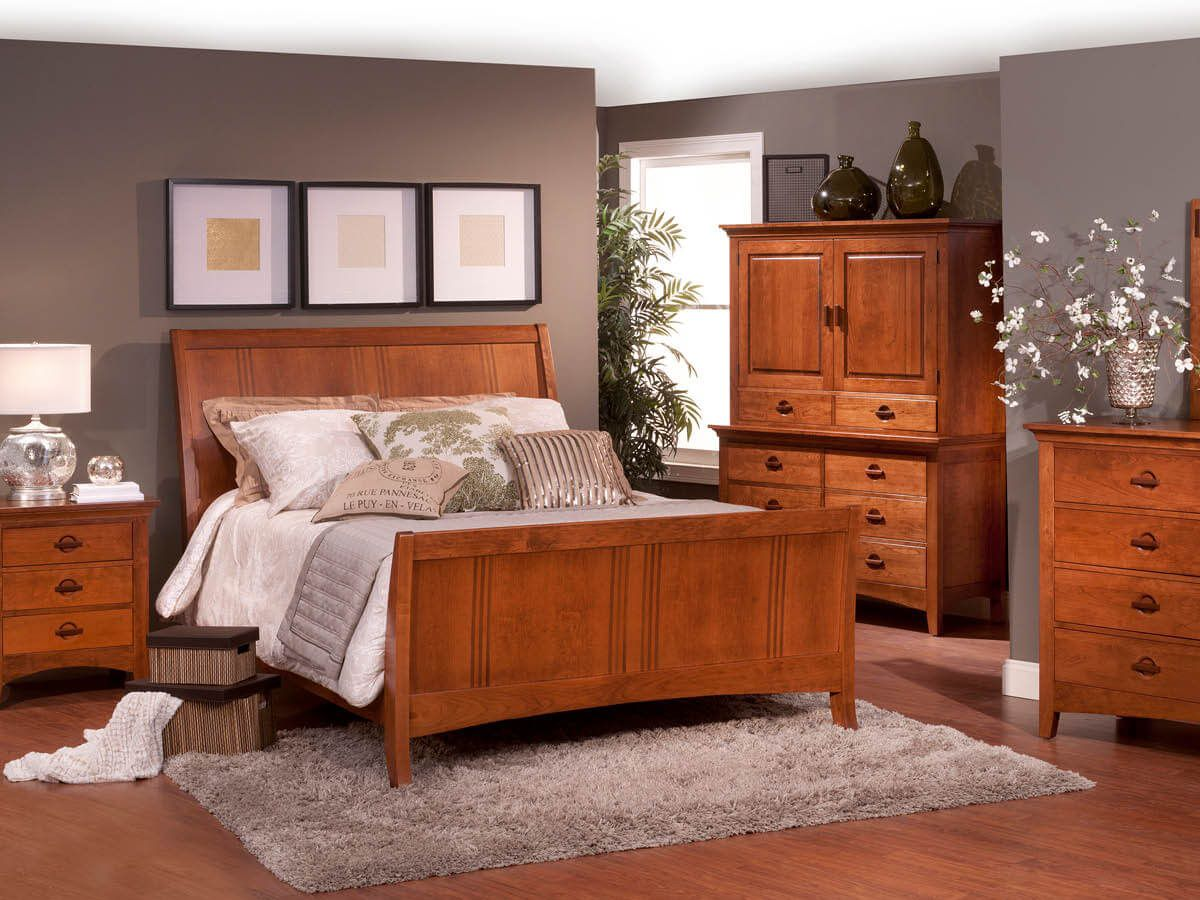 Senoia Cherry Bedroom Furniture Set