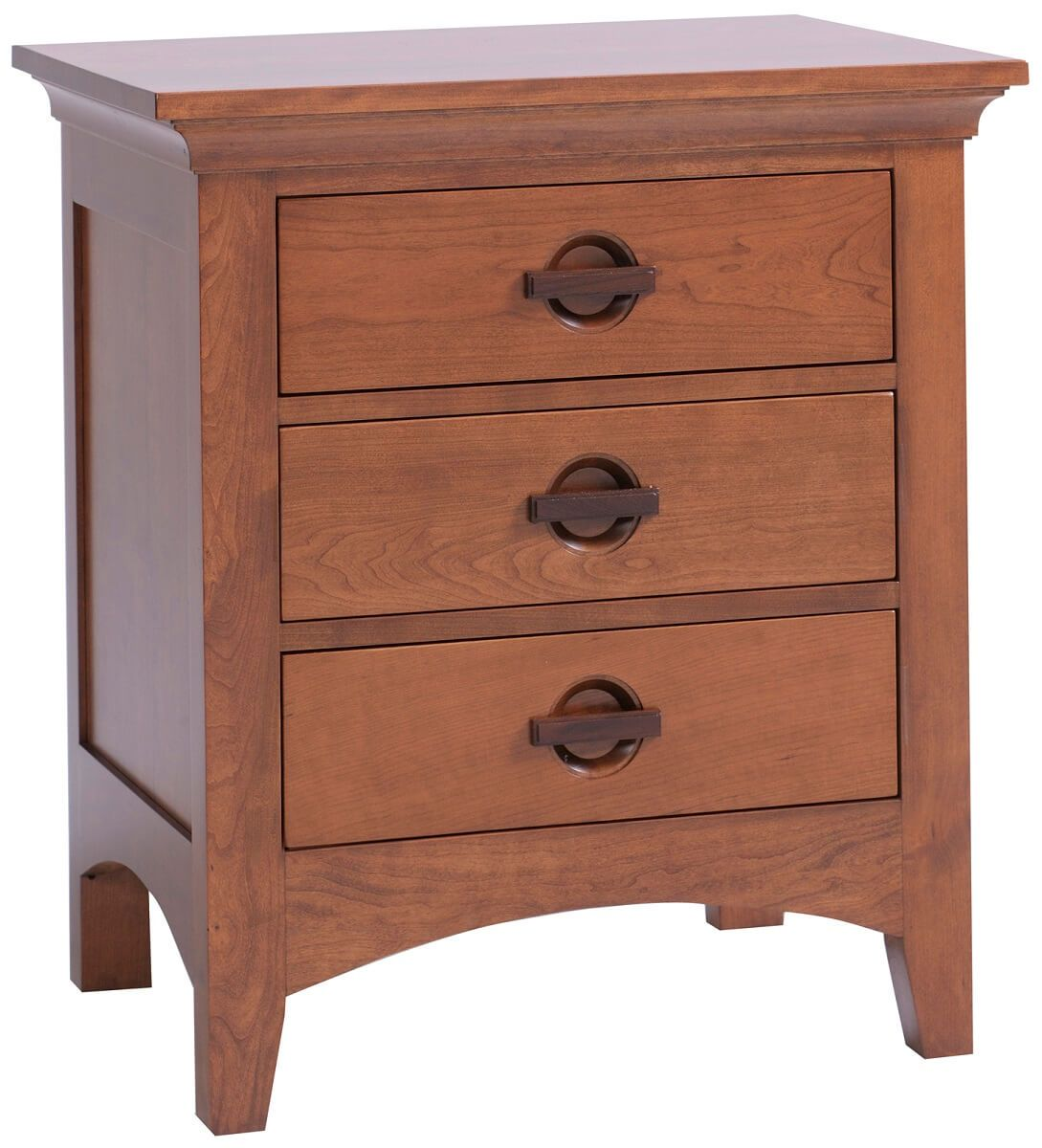 Senoia 3-Drawer Nightstand