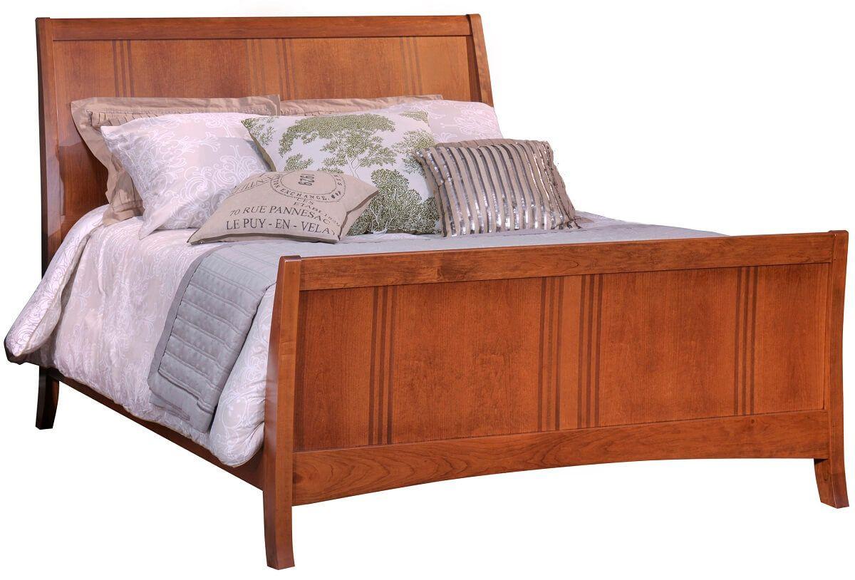 Senoia Sleigh Bed
