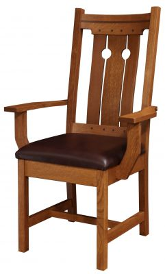 Caldera Solid Wood Dining Chair