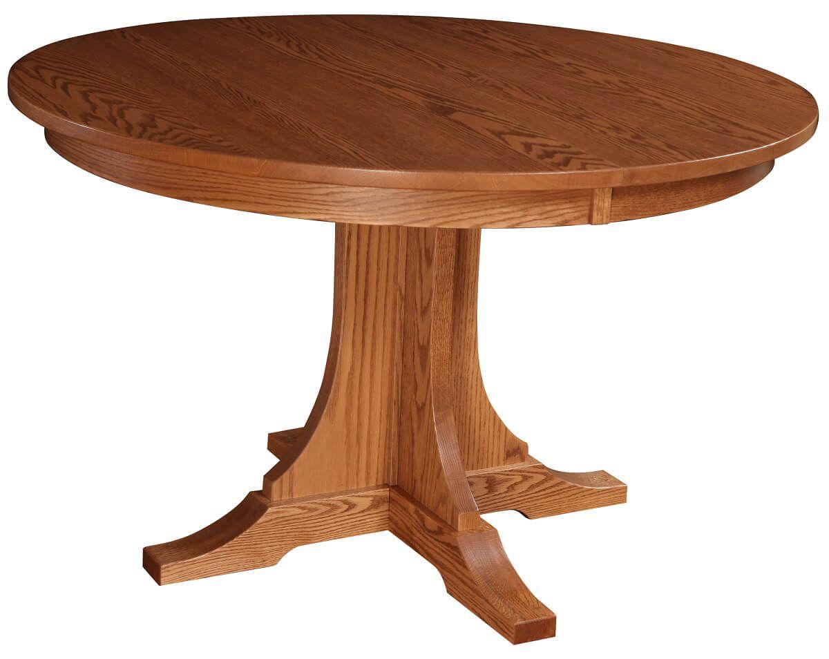 Wahtum Pedestal Table