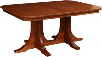 Battle Creek Double Pedestal Table