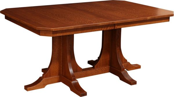 Battle Creek Double Pedestal Dining Table
