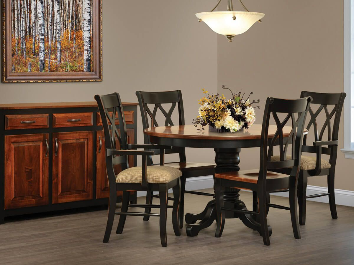 Baughmann French Country Dining Chairs - Countryside Amish ...