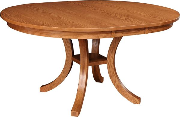 Coulter Oval Pedestal Table