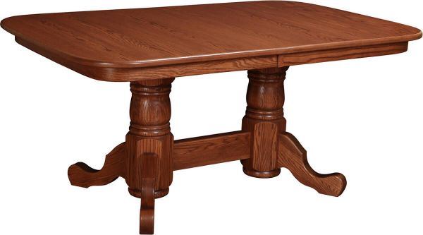 Heywood Double Pedestal Table