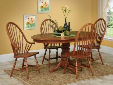 early american windsor chairs - countryside amish furniture