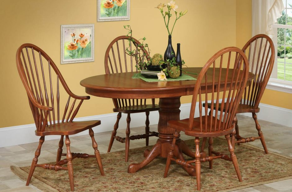 Mobile Handmade Dining Room Set - Countryside Amish Furniture