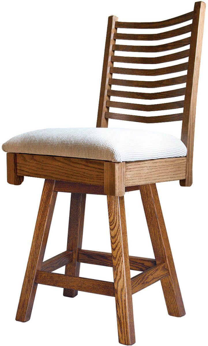 Pembroke Swivel Pub Chair