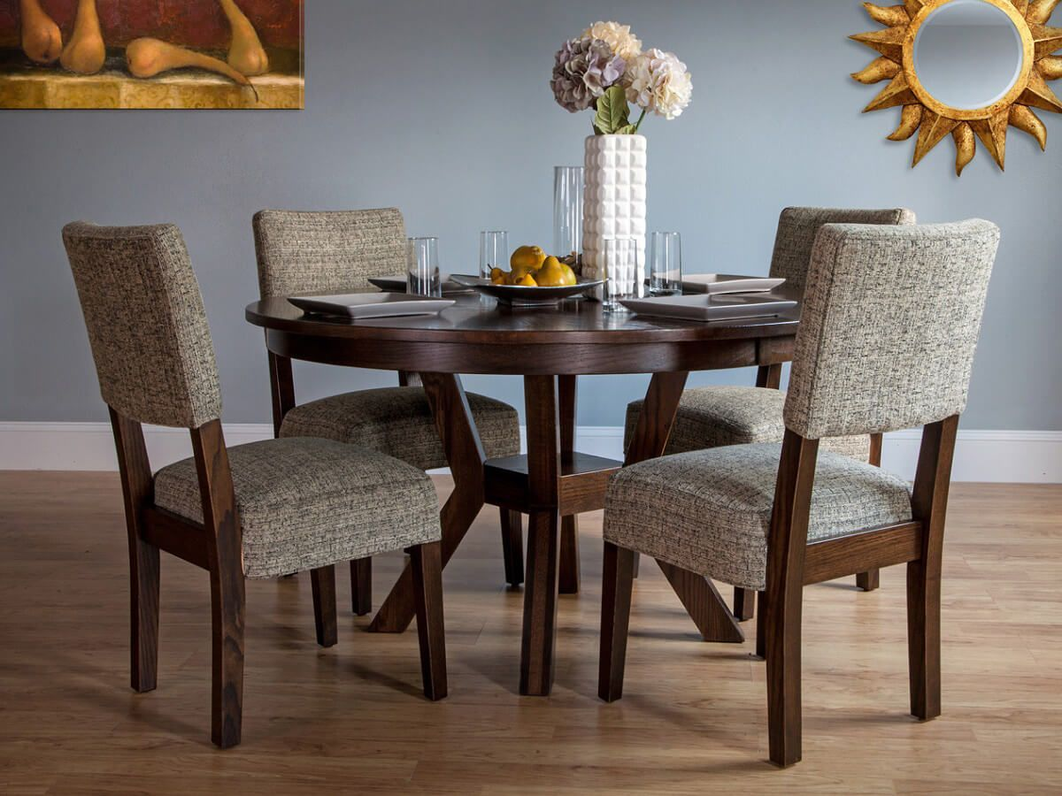 Regis Round Dining Table Set