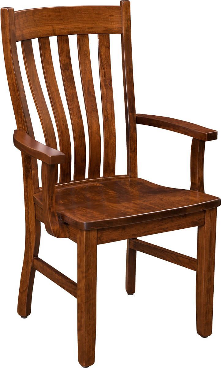 Saginaw Solid Wood Dining Chair