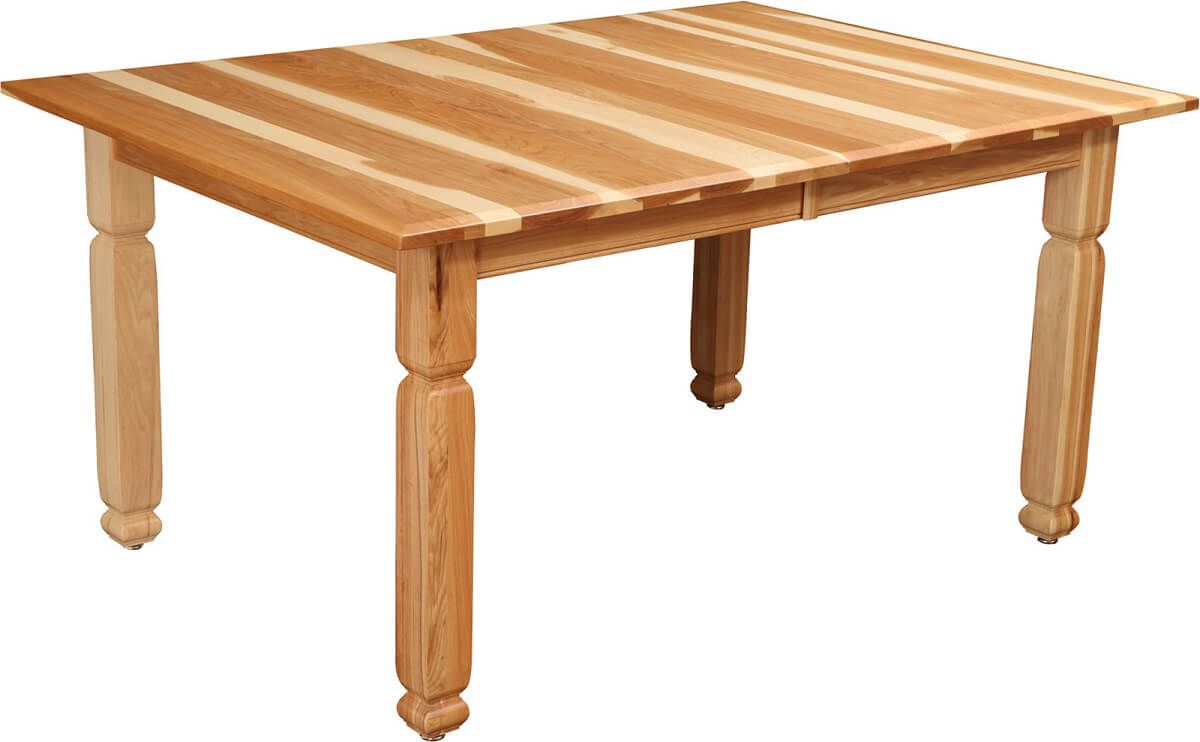 Sanibel Hickory Dining Table