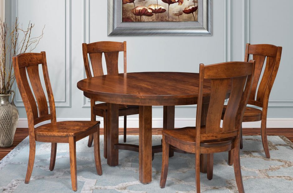 Sonnenburg Mission Dining Table Set - Countryside Amish ...