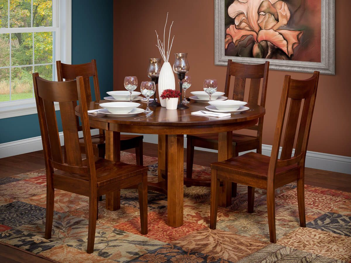 Shown with Flanagan Chairs