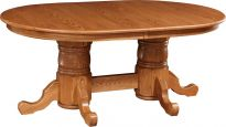 Spring Meadow Double Pedestal Table