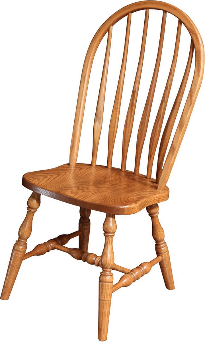 High Bent Feather Side Chair