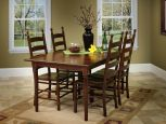 Shown with Colonist Ladder Back Chairs