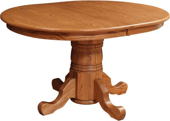Wakefield Oak Pedestal Dining Table