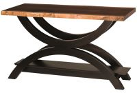 Echo Live Edge Console Table