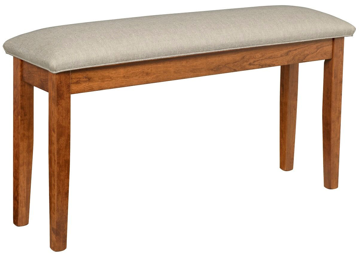 Coulter Pub Bench with Fabric Seat
