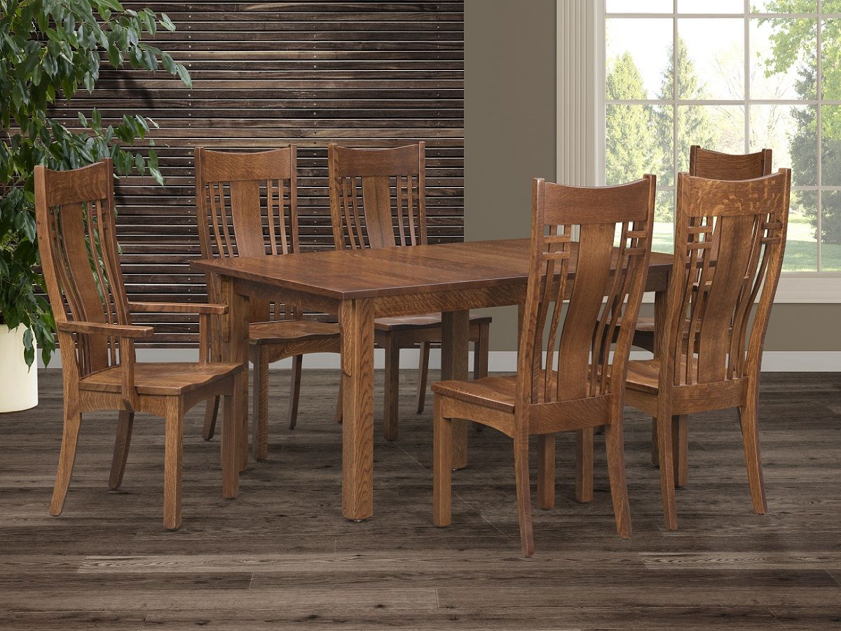Mission Dining Room Table and Chairs