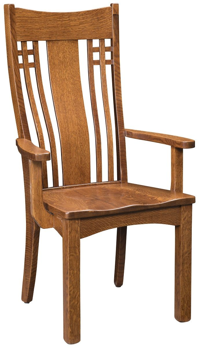 Mecklenburg Mission Dining Arm Chair