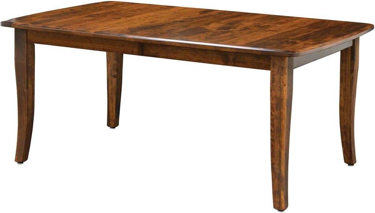 Rustic Cherry Leg Table