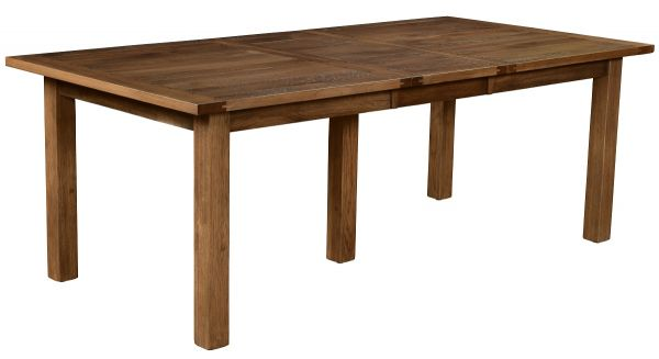 Rustic Dining Table with Leaves