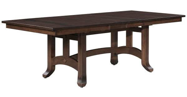 Trestle Table with Leaves