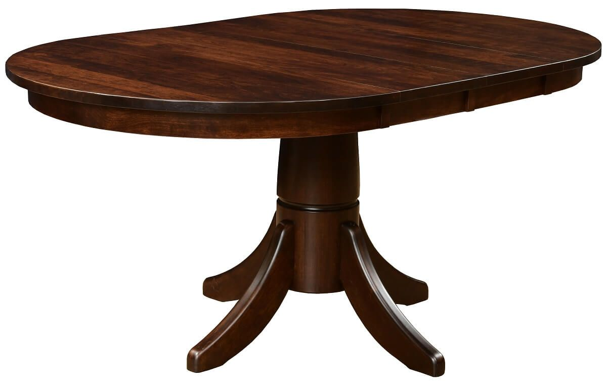 Pedestal Table with Leaves