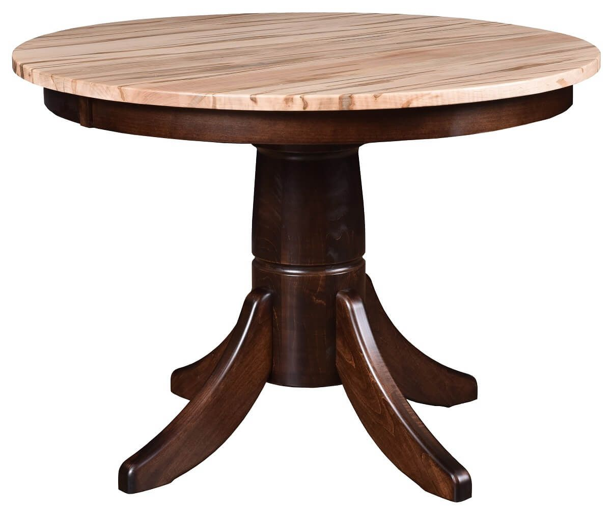 Two Tone Pedestal Table