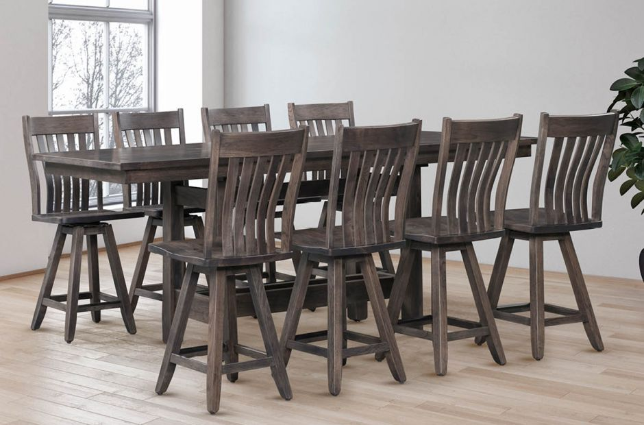 Wiscasset Rustic Dining Set image 1