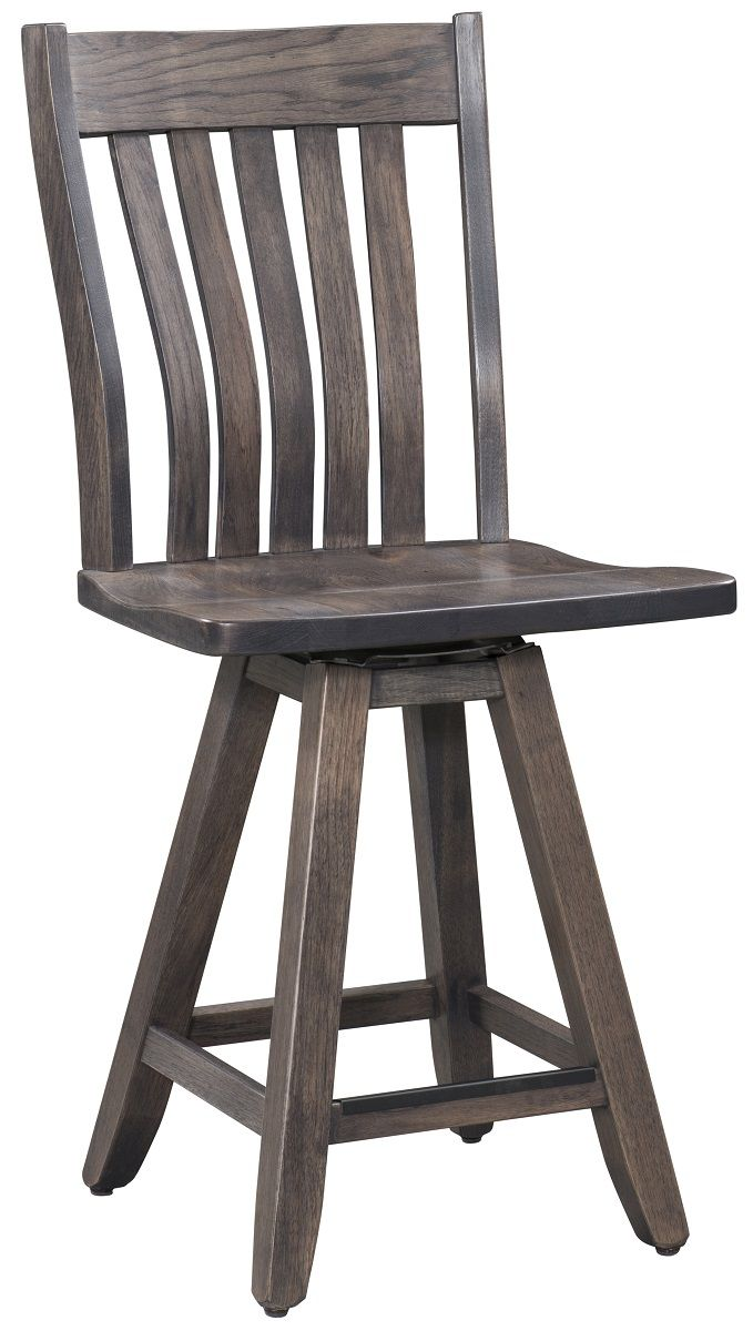 Wiscasset Swivel Counter Height Stool