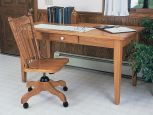 Solid Wood Oak Library Table