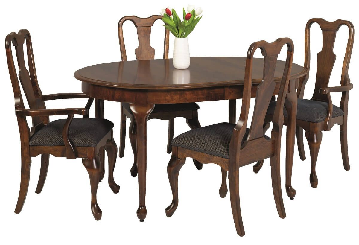 Adelia Queen Anne Table Set
