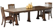 Quartersawn White Oak Dining Set