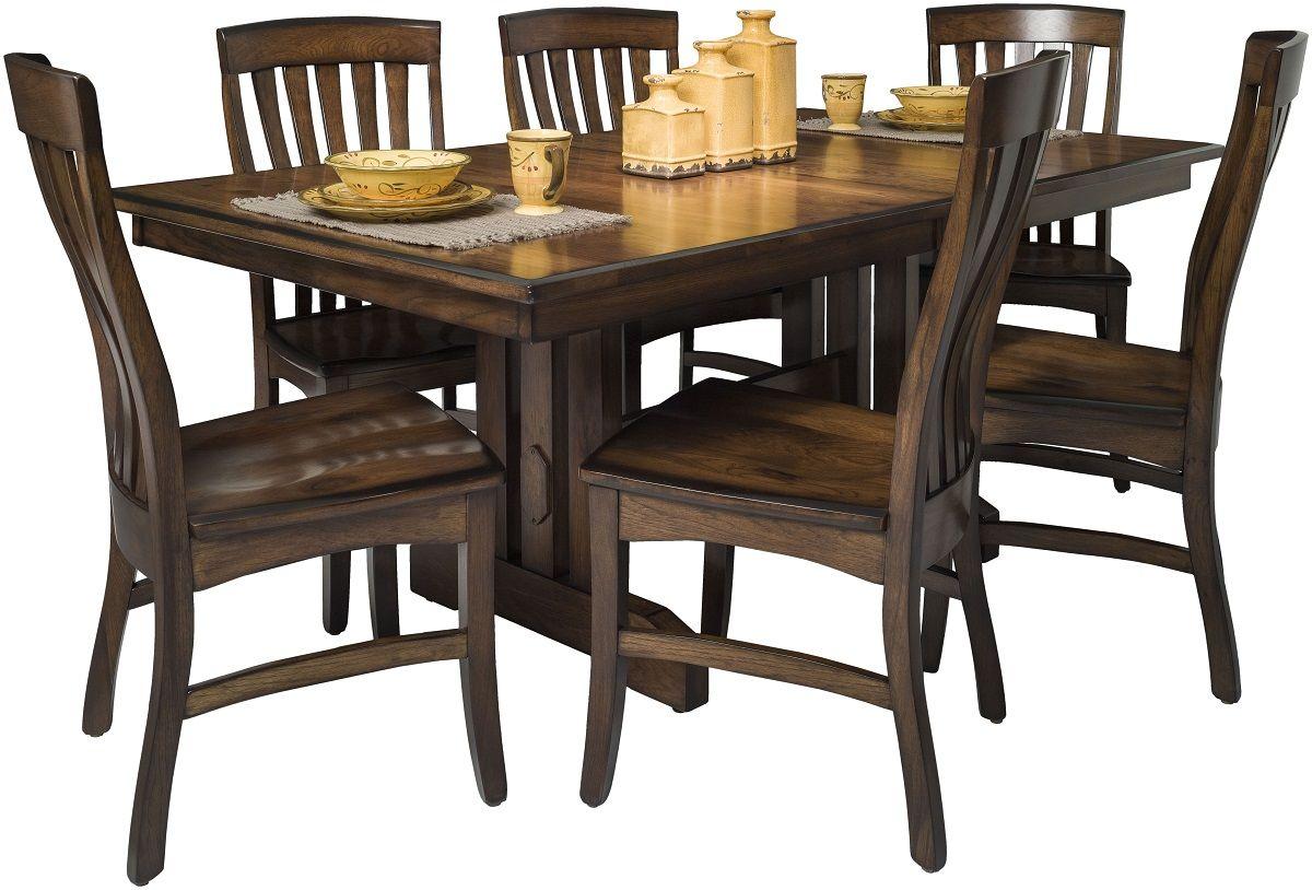 Franc's Peak Expandable Amish Dining Table