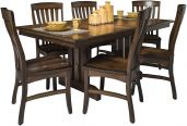 Franc's Peak Expandable Amish Dining Table