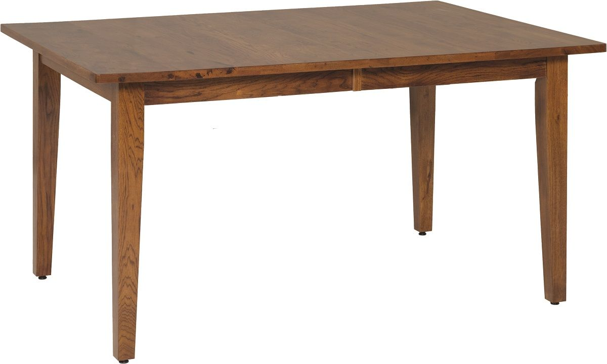 Hickory Shaker Leg Table