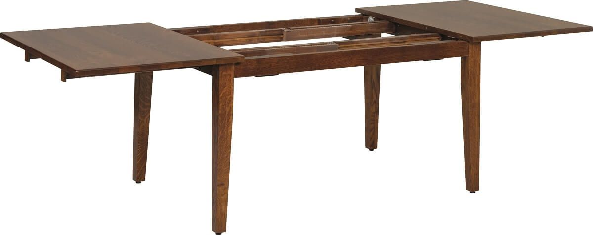 Expanding Table with Stationary Base