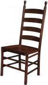 Amish Colonist Ladder Back Chair