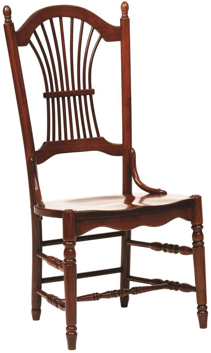 Arkansas Sheaf Back Side Chair