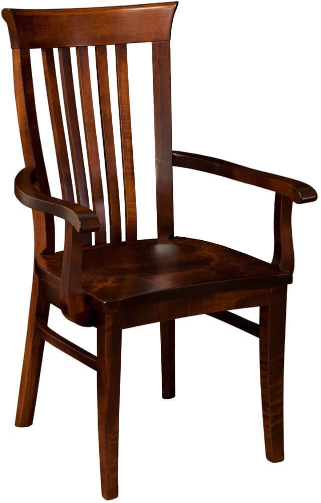 Big Valley Solid Wood Arm Chair