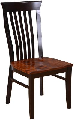 Shown with Tiger Maple seat