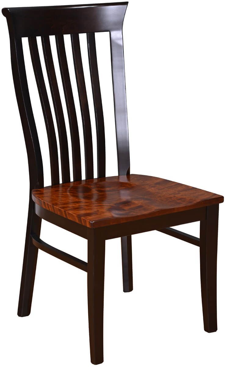 Big valley handmade dining chair countryside amish furniture for Large dining chairs
