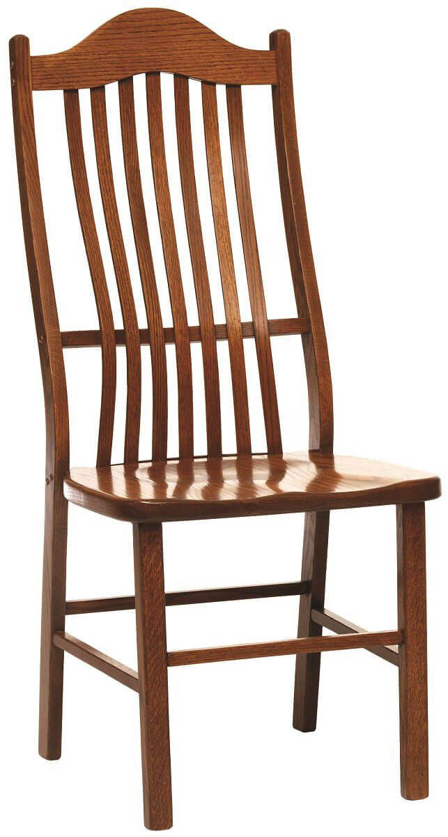 Trenton Side and Arm Chair shown in Oak