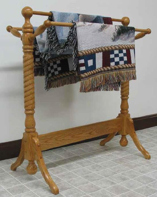 McDowell Amish Quilt Rack